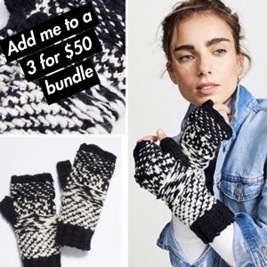 Free People - Chunky Knit Gloves